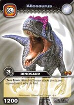 Allosaurus TCG card