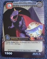 Carnotaurus - Ace Battle Mode TCG Card 3-DKBD-Silver