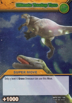 Ultimate Treetop Toss TCG Card 1-Silver