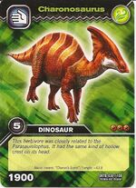 Charonosaurus TCG Card (German)