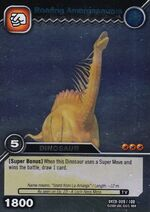 Amargasaurus-Roaring TCG Card