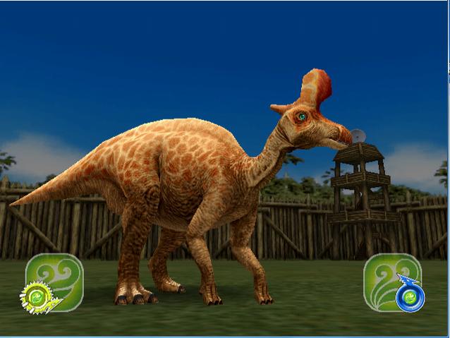 File:Dinosaurking - Lambeosaurus - Perform BFA.png