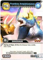 Ampelosaurus-Brave TCG Card (French)