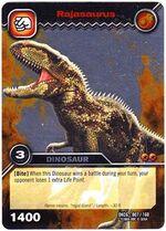 Rajasaurus TCG card