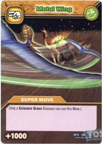 Metal Wing TCG Card 2 (French)