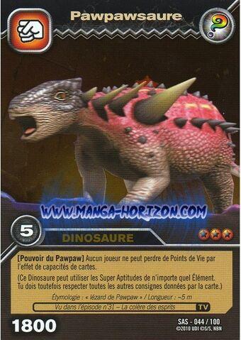 File:Pawpawsaurus TCG Card (foreign) 1.jpg