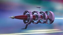 Spectral Space Pirate ship