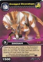 Diceratops-Enraged TCG Card (German)