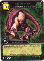 Maiasaura TCG card