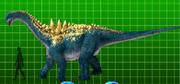 Ampelosaurus (full view)