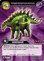 Gigantspinosaurus TCG card