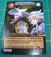Carnotaurus - Ace DinoTector TCG Card 3-DKTA-Gold (French)