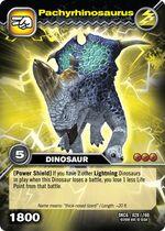 Pachyrhinosaurus TCG card