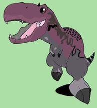 Giganotosaurus Chibi by Asuma17