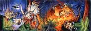 Animal Kingdom Dinosaur cup print