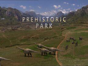 Prehistoric Park title card
