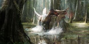 Spinosaurus ecology