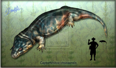 Captorhinikos chozaensis by karkemish00-d52kn7f
