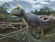 Cryolophosaurus by puntotu-d5uol9j