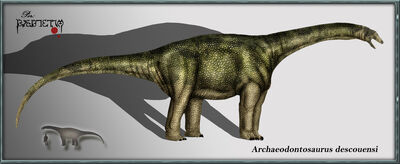 Archaeodontosaurus descouensi by karkemish00