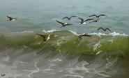 Rhamphorhynchus by pixelmecha-d9ebone