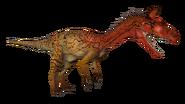 Elvisaurus Cryolophosaurus