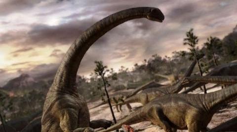 Mapusaurus gang Vs. Argentinosaurus - Planet Dinosaur - BBC