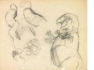 T-rex drawing