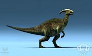Turok Parasaurolophus