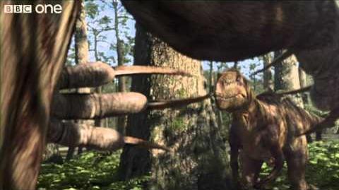 Nothronychus - Planet Dinosaur - Episode 6 - BBC One