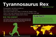 JQ fact sheet Tyrannosaurus Rex