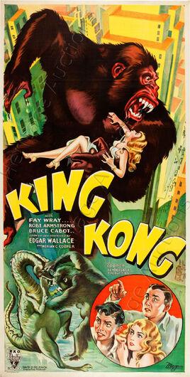 1933-King-Kong-three-sheet-movie-poster
