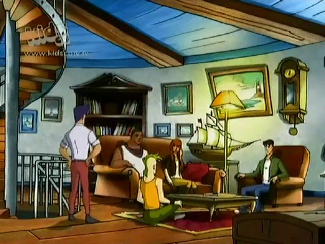 Dino Squad S02E13 The Trojan Dinosaur