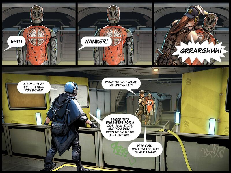 The Shell Shock Update - Comic 029
