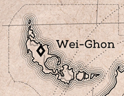 Wei-Ghon on map