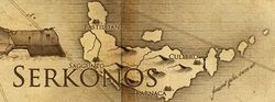 Serkonos map