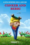 Conker and Berri (Gnomeo and Juliet) Poster
