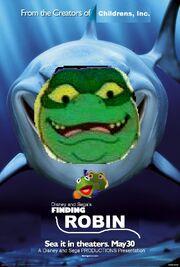 Finding Robin (Disney and Sega Version) Poster