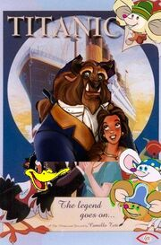 Titanic The Legend Goes On (Disney and Sega Style) Poster