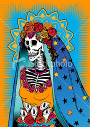 Catrina from Day of the Dead celebration
