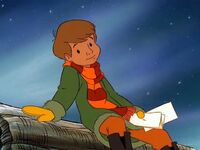 Christopher Robin at Christmastime