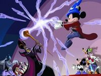 Mickey VS Jafar