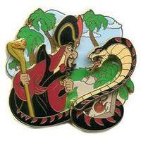 Jafar Snake Pin