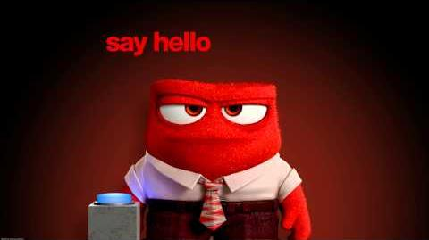 """Inside Out (2015) - Spot """"Say Hello to Anger"""""""