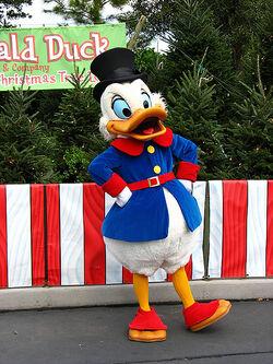 Scrooge at Walt Disney World