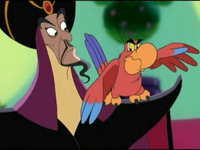 Jafar and Iago House of Mouse