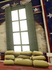 Captain America Window