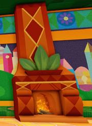 Small World Fireplace