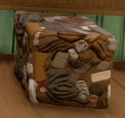 WALL-E Garbage Cube