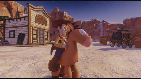 DISNEY INFINITY Woody's Roundup (Featured Toy Box)